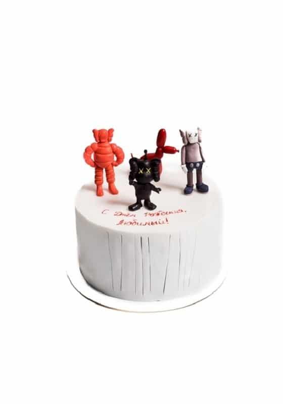 Торт Игрушки Kaws