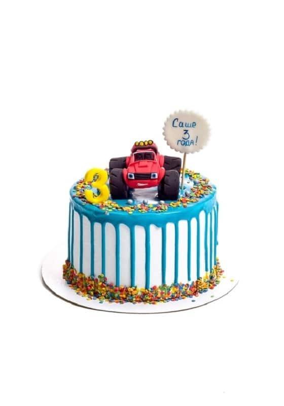 Торт с машинкой Джип