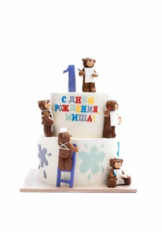 Торт с Мишкой Поваром