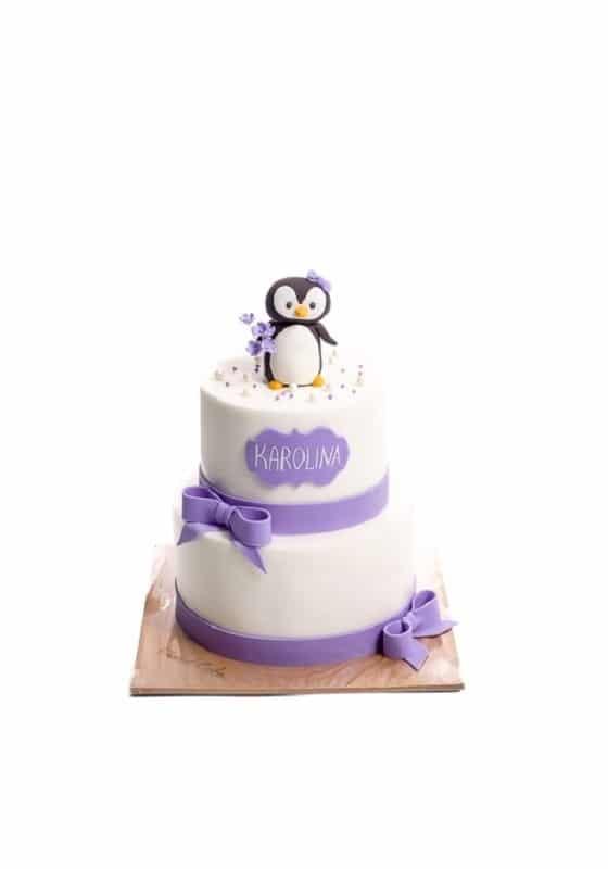Торт с Пингвином