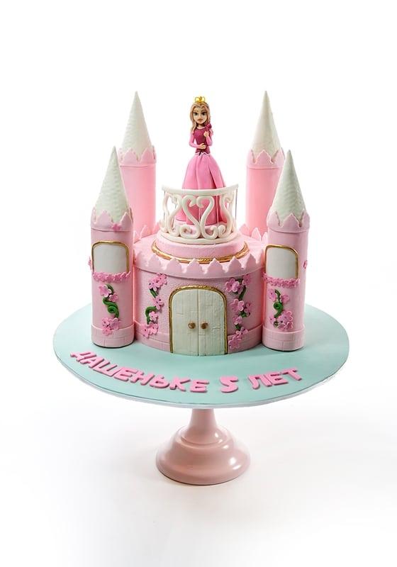 Торт Замок для Принцессы
