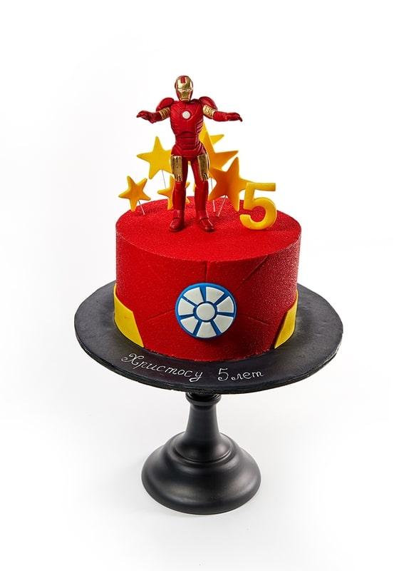 Торт Железный Человек
