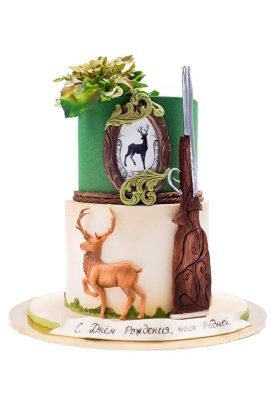 Торт для Охотника с ружьем