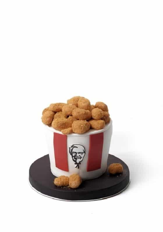 Торт фастфуд KFC