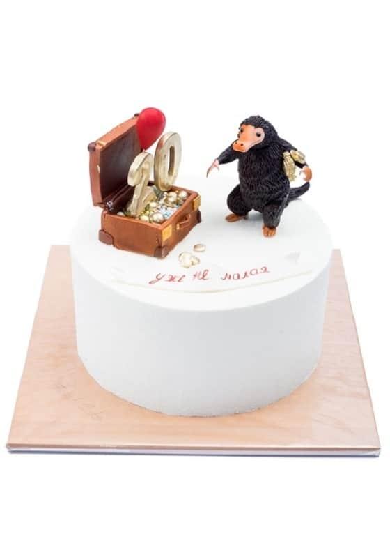 Торт с Cундуком денег