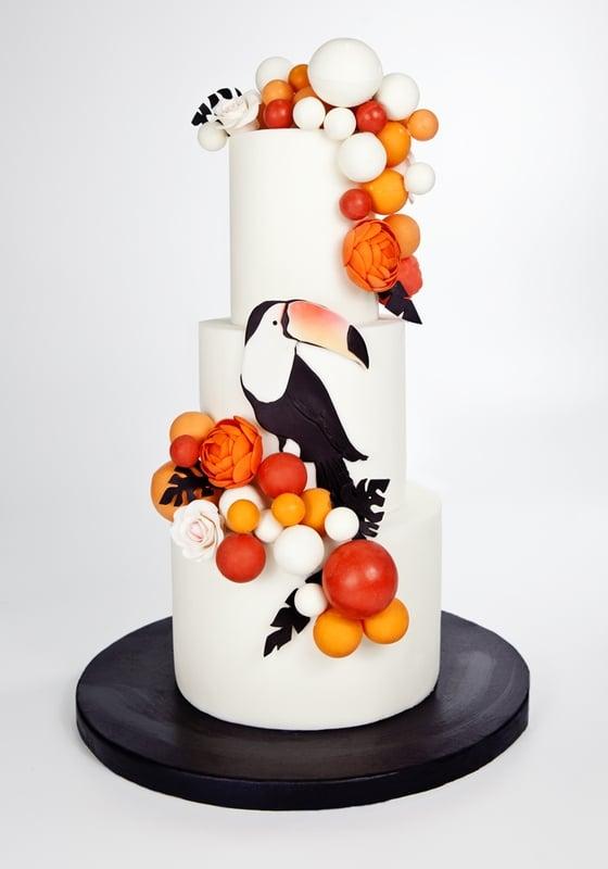 Торт с Птицей