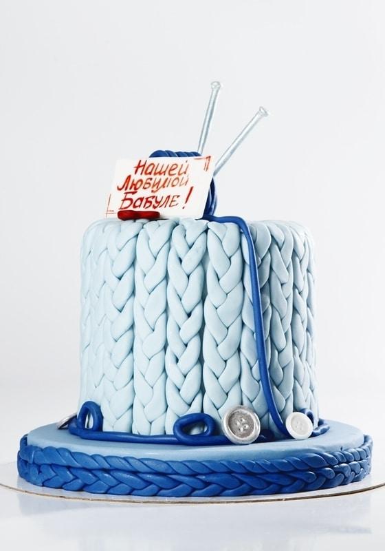 Торт с Вязанием