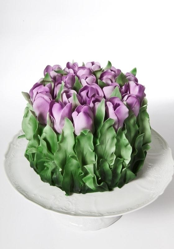 Торт Тюльпановый рай