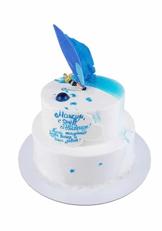 Торт с Виндсерфингом