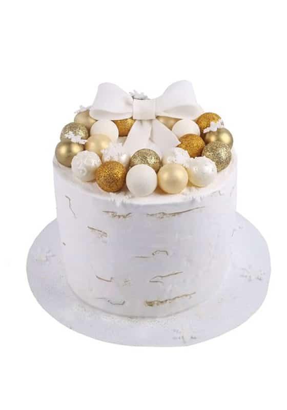 Торт с Золотыми шариками